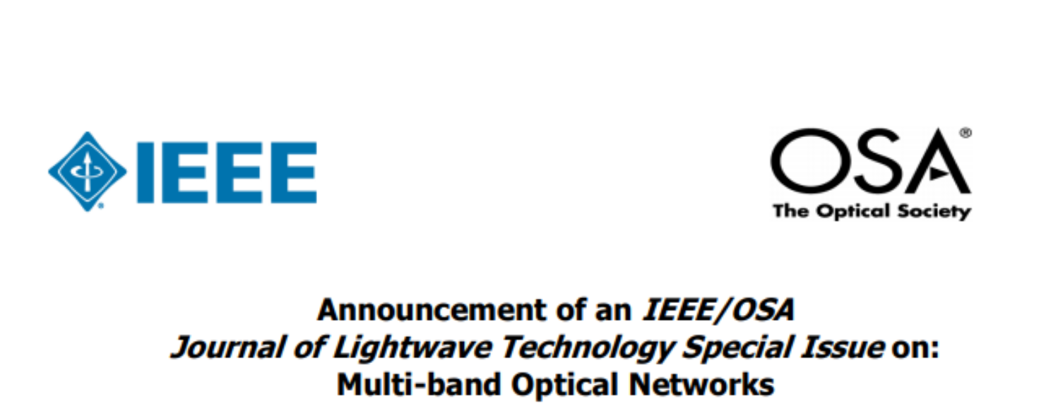 IEEE/OSA Journal of Lightwave Technology Special Issue