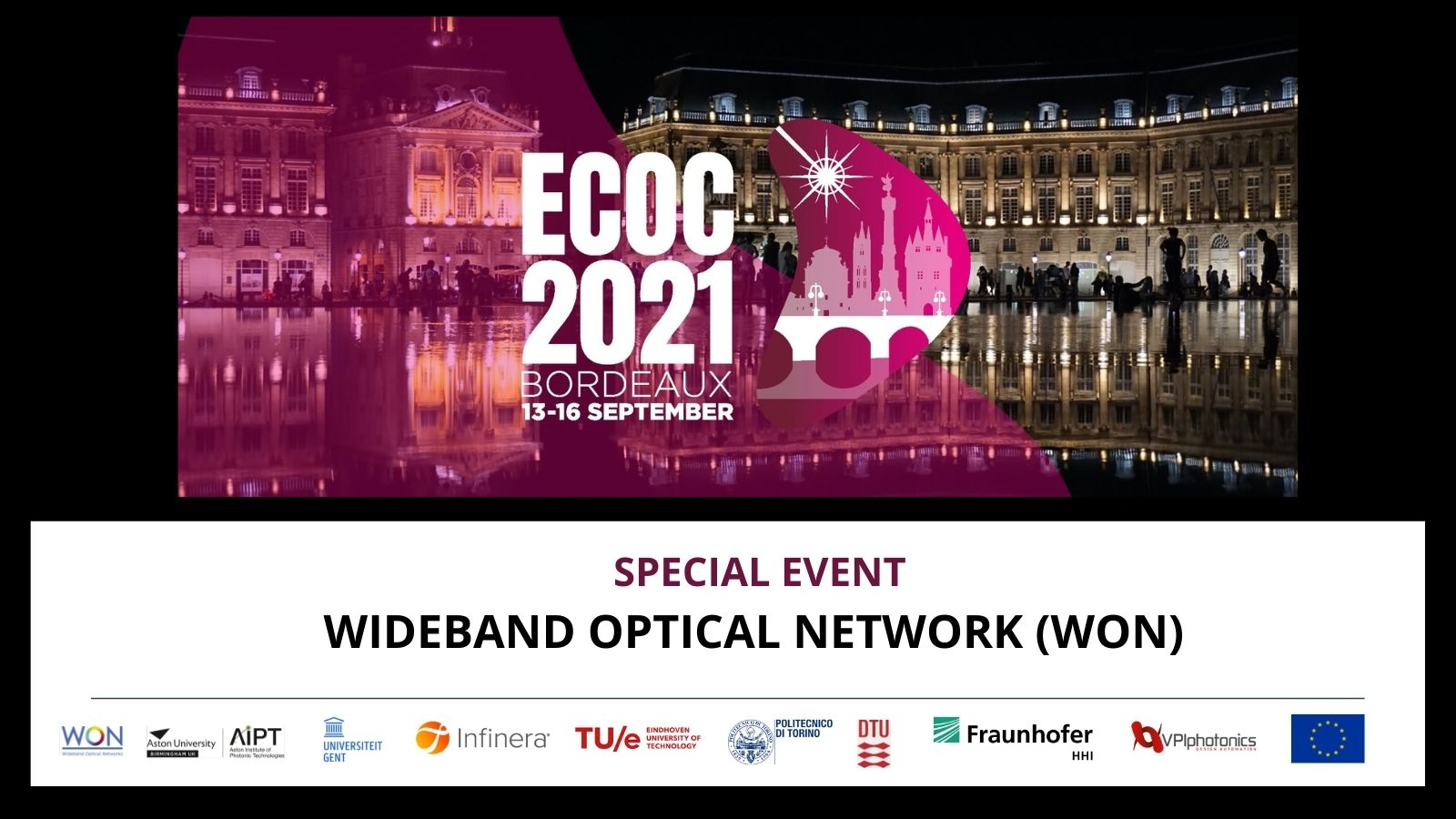 WON Special Event at ECOC 2021
